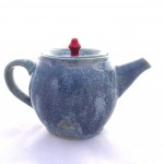 Ice Blue Teapot