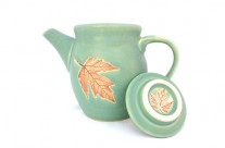 Teapot Leaf Green